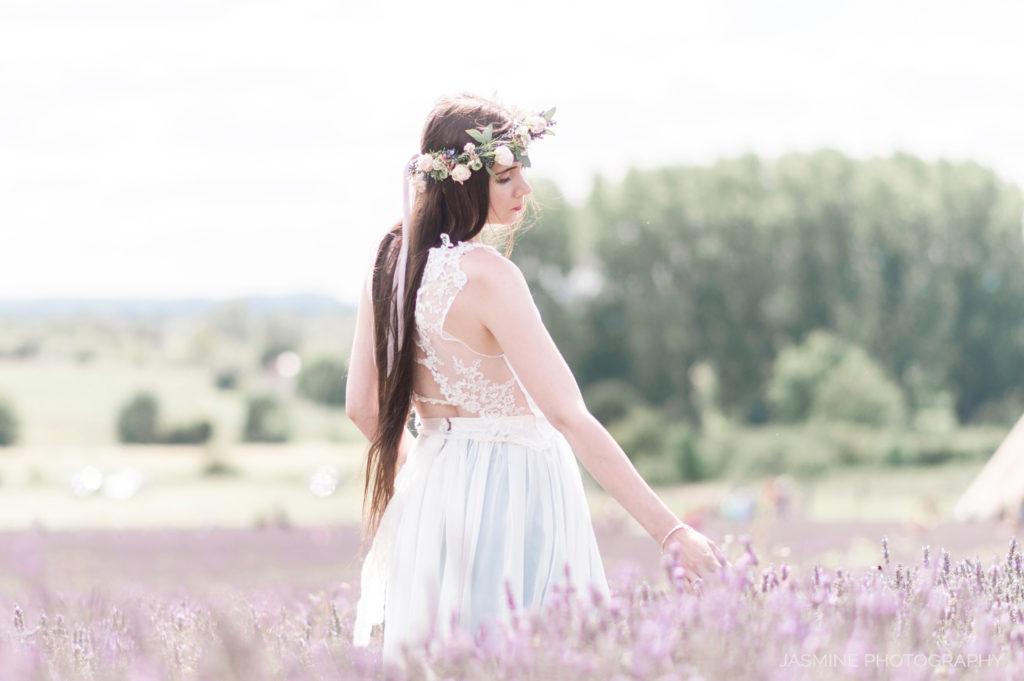 """dreamy boho bridal photoshoot"""